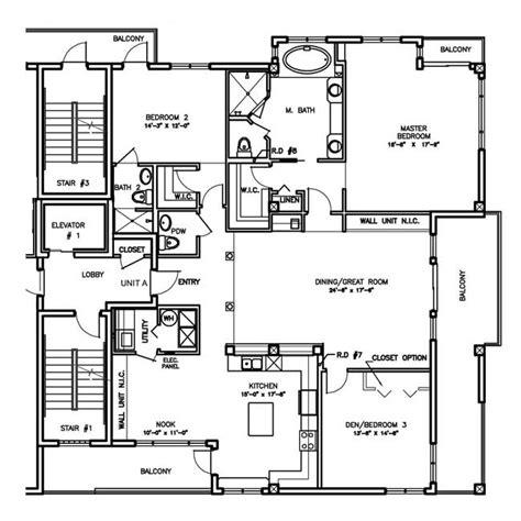 construction floor plans buildings plan modern house