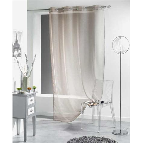 rideau voilage liss 233 a 140x240 cm taupe