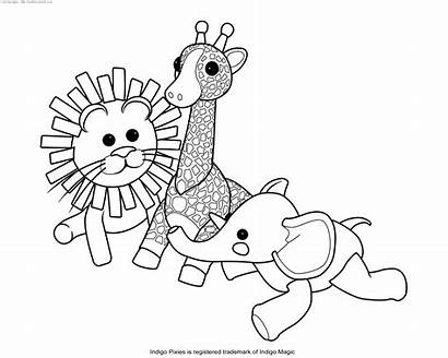 Stuffed Coloring Animal Pages Usain Bolt Miracle