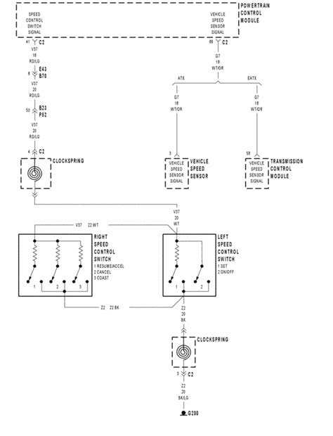 Chrysler Voyager 2002 Wiring Diagram by Color S Is The Cruise Wire For A 2000 Chrysler