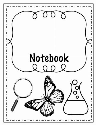 Interactive Notebooks Science Title Covers Editable Printable
