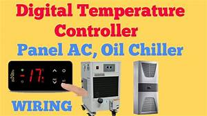 Digital Temperature Controller Panel Ac  Oil Chiller