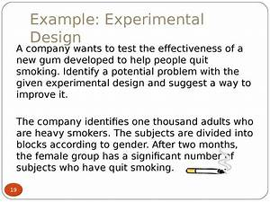 Experimental Design   Section 1 3