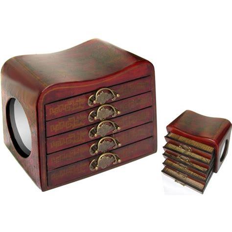 boite 224 bijoux concave avec miroirs magasin du meuble