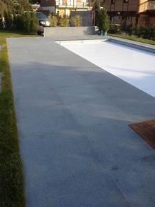 Terrasse En Caillebotis : terrasse en pierres naturelles granit gris et ~ Premium-room.com Idées de Décoration