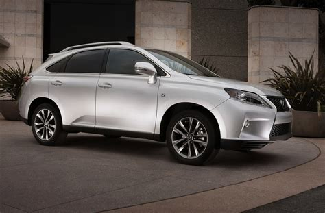 New 2013 Lexus Rx 350 Crossover Priced At $39,310