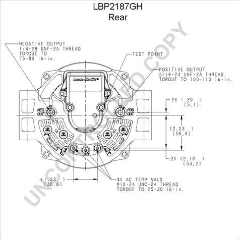 Prestolite 8rg2112 Alternator Wiring Diagram by Lbp2187gh Product Details Prestolite Leece Neville