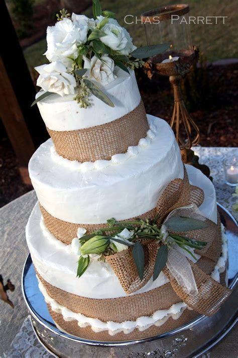 burlap wedding cake burlap wedding cake wedding cake