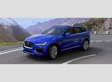 Jaguar FPACE Colors Pick From 17 Color Options CarBay