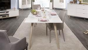 Möbel Skandinavisches Design : esstisch g teborg tisch wei und sonoma eiche skandinavisches design ~ Eleganceandgraceweddings.com Haus und Dekorationen