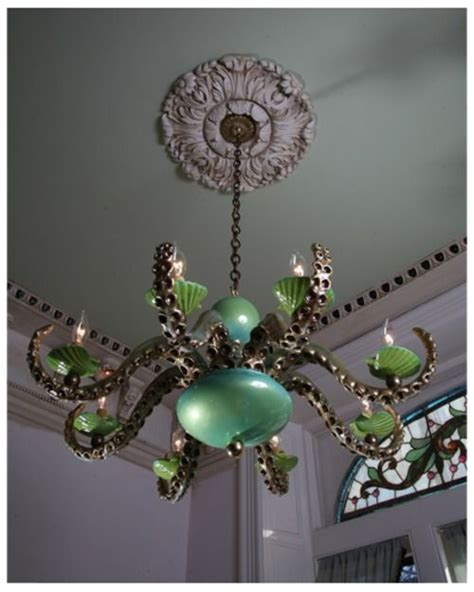adam wallacavage octopus chandeliers beautiful the