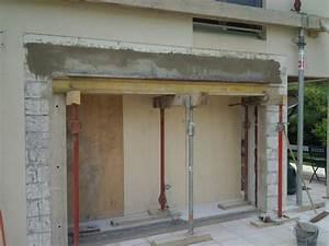 ouverture dans mur porteur nos chantiers With prix ouverture mur porteur pierre