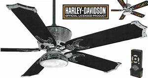 Harley davidson ceiling fans - the conducive environment