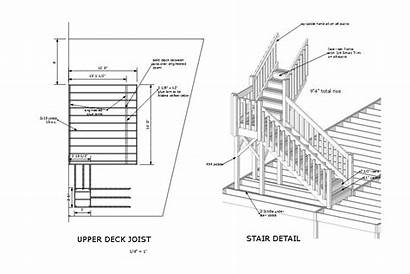 Deck Draw Plans Stair Story Dream Layout