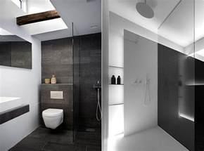 moderne badezimmer schwarz weiss bad modern gestalten mit licht modernes badezimmer design in schwarz und weiß freshouse