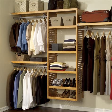 "John Louis Home John Louis Home 120"" Wide Closet System"