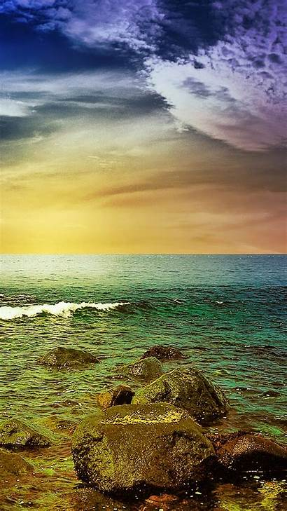 Wallpapers Stormy Mobile Sea Smartphone Nature Phone
