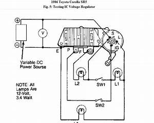 Toyota Hilux Voltage Regulator Wiring Diagram
