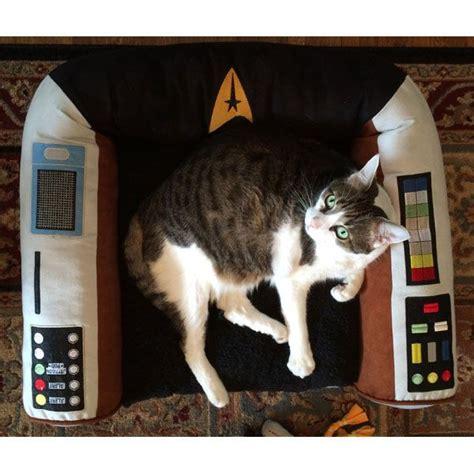 trek captains chair pet bed 84 best images about cats wif trek or trek cats