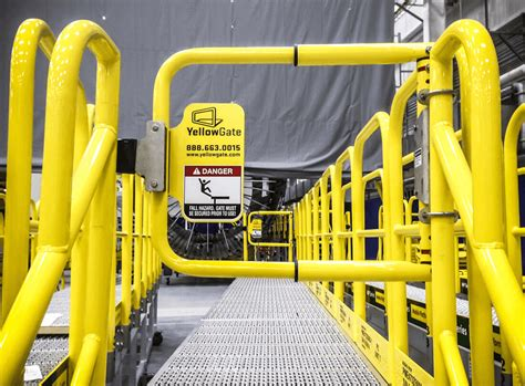 swing gates safety gates traffic barrier industrial safety gates