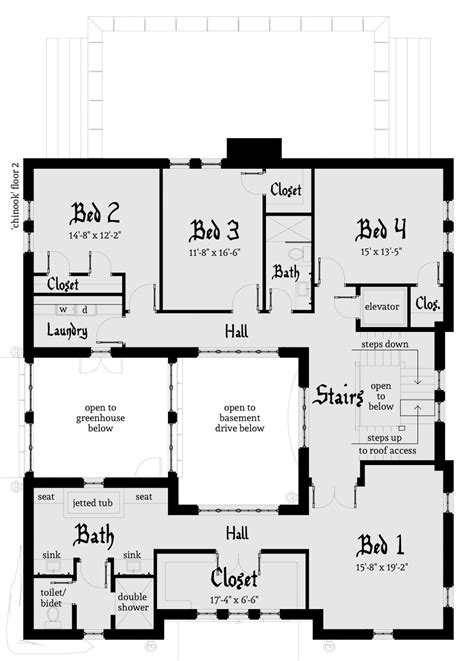house floor plans chinook castle plan by tyree house plans