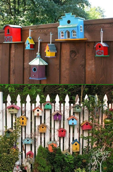 Garden Decoration Fence by Backyard Garden Fence Decoration Makeover Diy Ideas