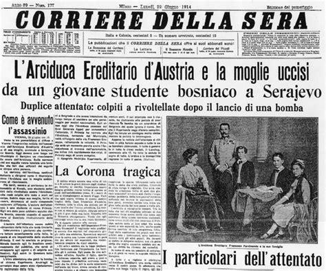 Ministro Ottomano by La Scintilla Da 15 Milioni Di Morti Di Sarajevo Poche Storie