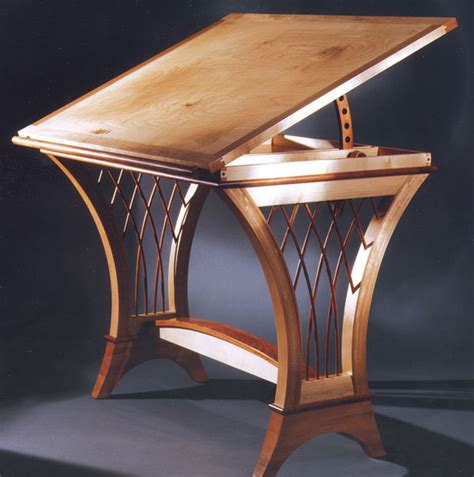 drawing table finewoodworking