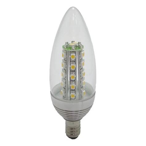 bulbrite ledt type b chandelier plus led light bulb atg