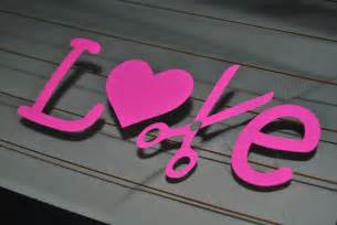 LOVE Cosmetology Car Decal (made to order)