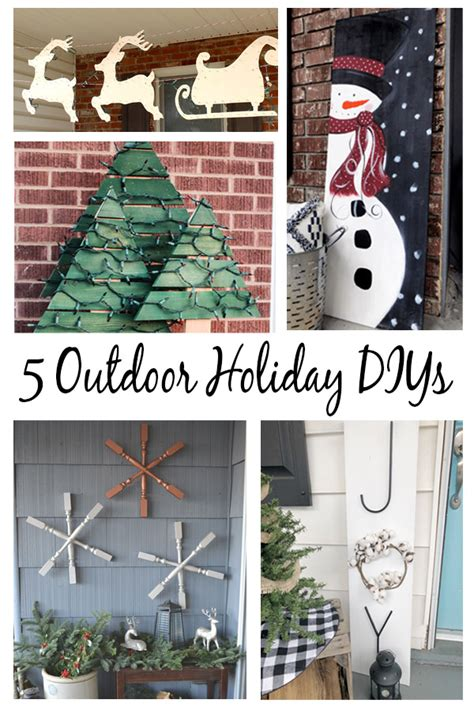 outdoor christmas decorations    diy simple