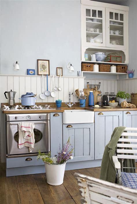 blue country kitchen miętowy kolor w kuchni kuchnia styl rustykalny 1723