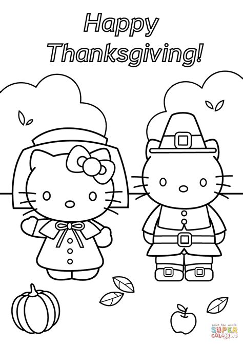 coloring pages for thanksgiving hello thanksgiving coloring page free printable