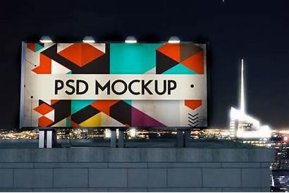 Billboard Mockup Mock Outdoor Advertising Mockups Building