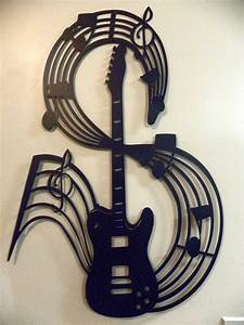 Guitar wall art guitars pinterest for Guitar wall art