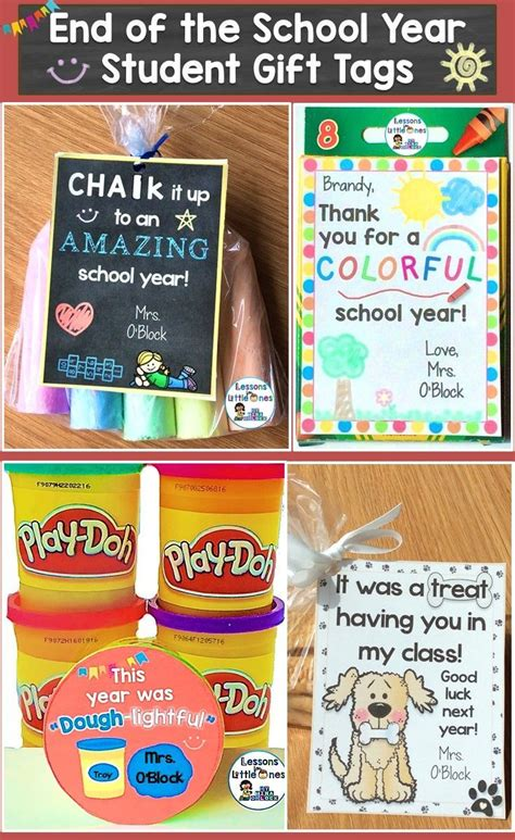 list of gifts to school children end of the year gift tags gift ideas editable 24 designs tpt misc lessons preschool