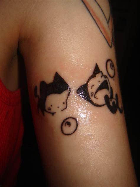 ubu bubu  eyeballs tattoo  drivingblind  deviantart