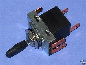 Headlight Switch Lucas Copy 31788 Triumph Norton Bsa Shell
