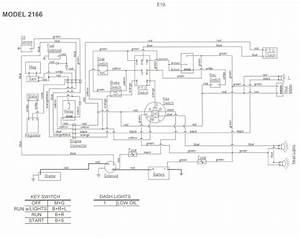 Cub Cadet 2166 Wiring Diagram