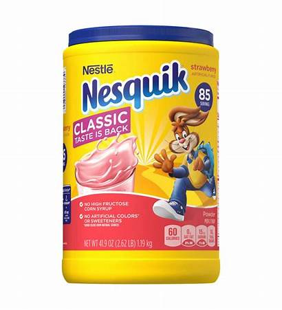 Nestle Flavored Nesquick Strawberry Lbs Powder Bebidas