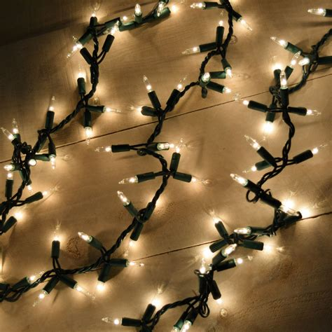 led garland xmas lights garland style lights 300 count clear