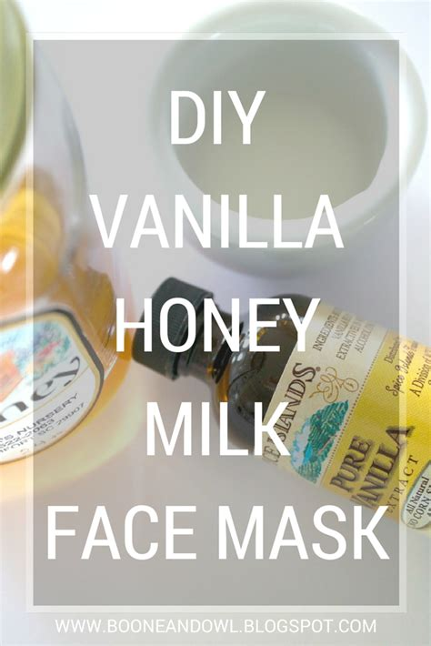 Leave on face for 20 minutes and rinse with warm water. DIY Vanilla Honey Milk Face Mask // A Guest Post - Coffee ...