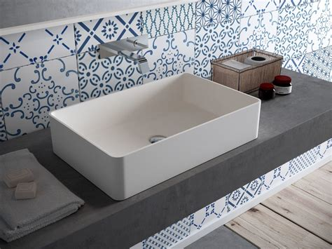 Bathroom Counter Revit by Countertop Rectangular Hi Macs 174 Washbasin Cb540r By Hi Macs