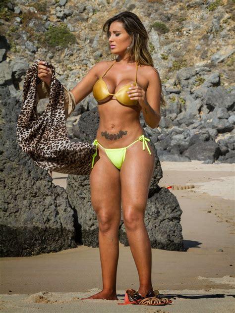 Andressa Urach Topless Bikini Photos On A Beach In Lisbon   Free Hot Photoshot
