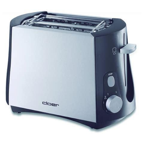 Cloer Toaster by Cloer Toaster 3410 Silber Schwarz Toastautomat F 220 R 2