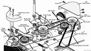 Repair Tip  U0026quot Mower Belt Diagrams 4 U0026quot