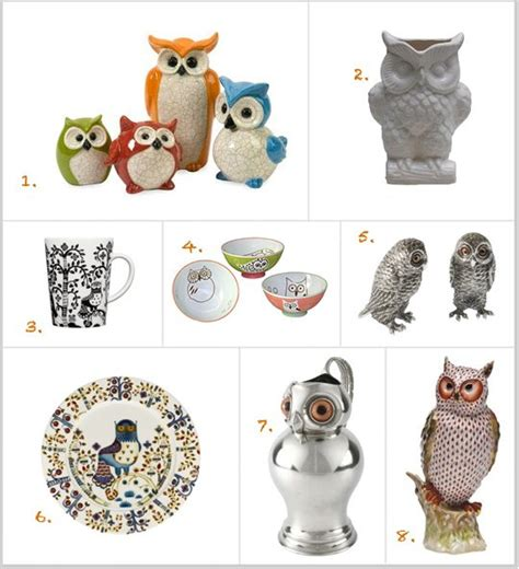 whoo  resist owl inspired kitchen decor owls