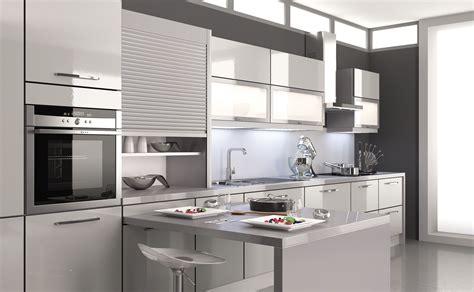 cuisines teisseire cuisine mirage gris tourterelle design et équipée par
