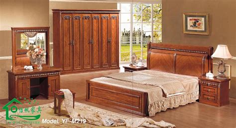 les chambre a coucher en bois wooden bedroom furniture with 80 inch length wood bed yf