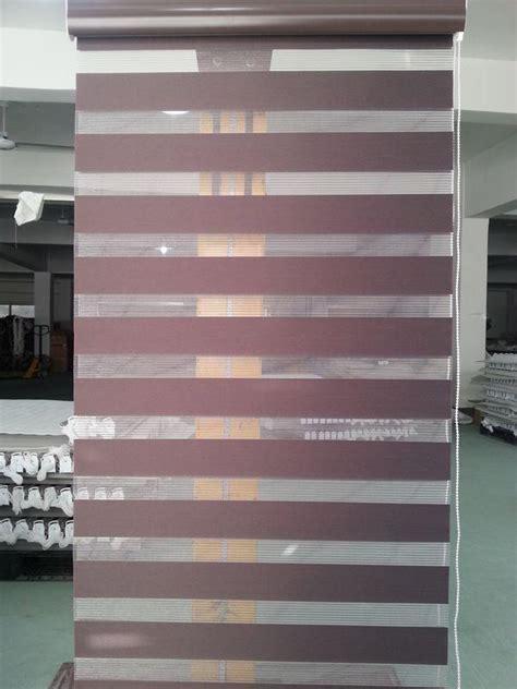 translucent  polyester zebra blinds  dark